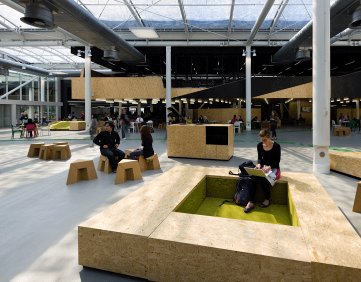 HUB BY HASSEL The design awardwinning Learning Hub is