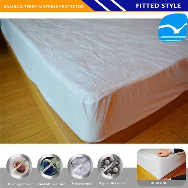 Hypoallergenic Mattress Protector Allergy Vinyl Free Twin Size Bed In Fort Worth