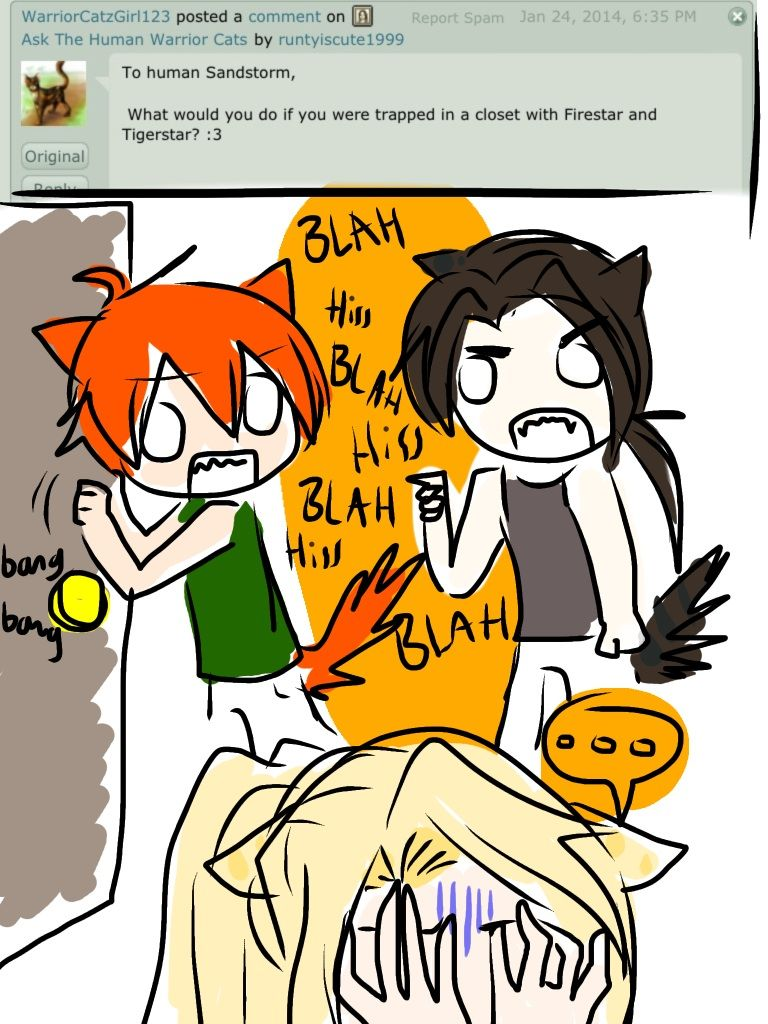 Ask The Human Warrior Cats 9 by runtyiscute1999 on
