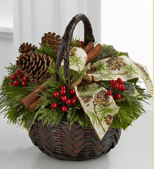 bouquets without flowers for Christmas Photograph of
