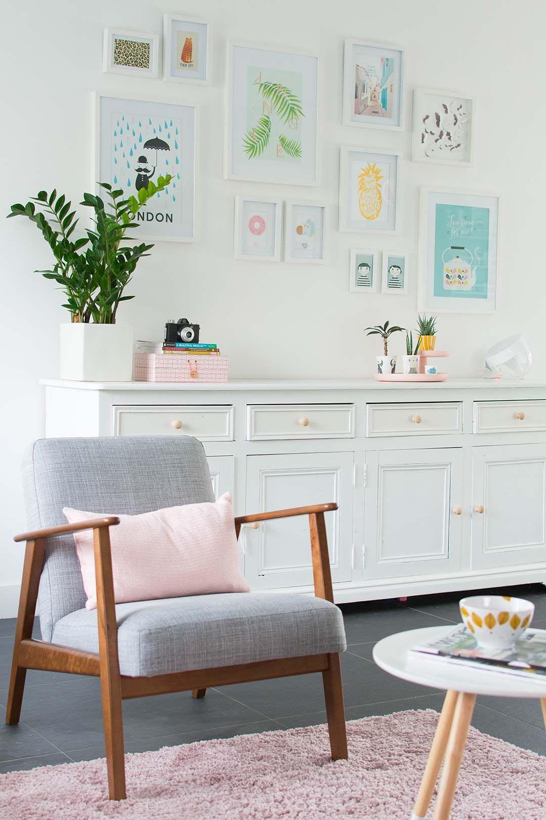 My livingroom EKENÄSET IKEA chair Bringinghappiness.nl