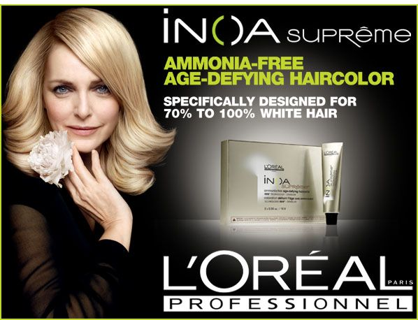 DISCOVER INOA SUPRME AGE DEFYING HAIRCOLOR Looking For A