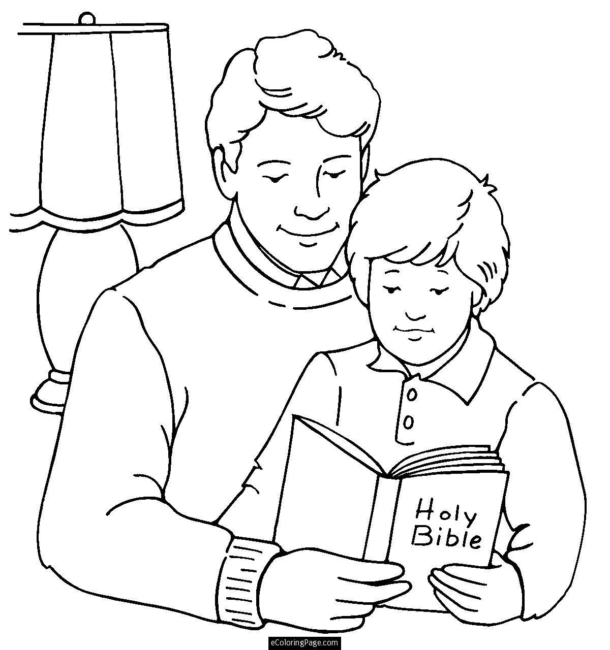 Coloring Book Dad