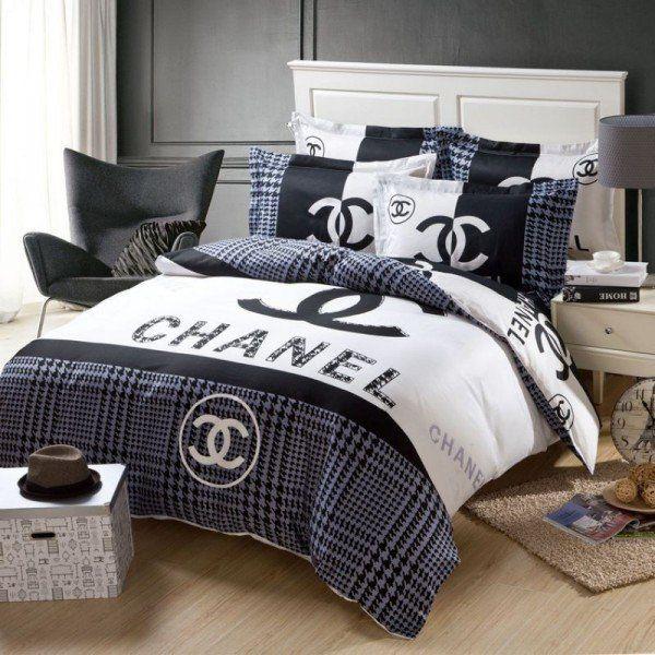 Chanel Bedding Set 1 Pepper Pinterest Chanel Bedding