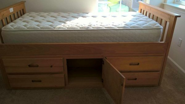 Captain Bed Twin Size With Mattress 150 Furniture In Jackson Tn