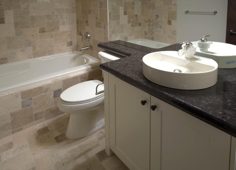granite bathroom countertops with vessel sinks - google search
