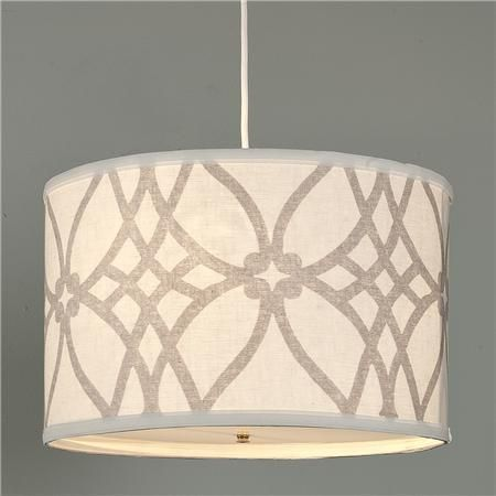 Pendant Lighting Love This Drum Shade Not Sure If I Like It For The Breakfast Area Or