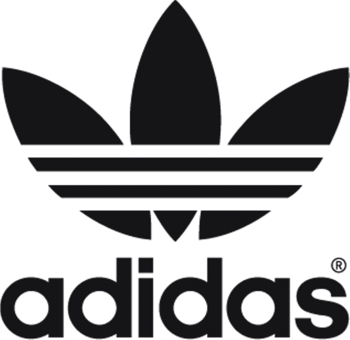 The classic Adidas logo is one of my favorite logos