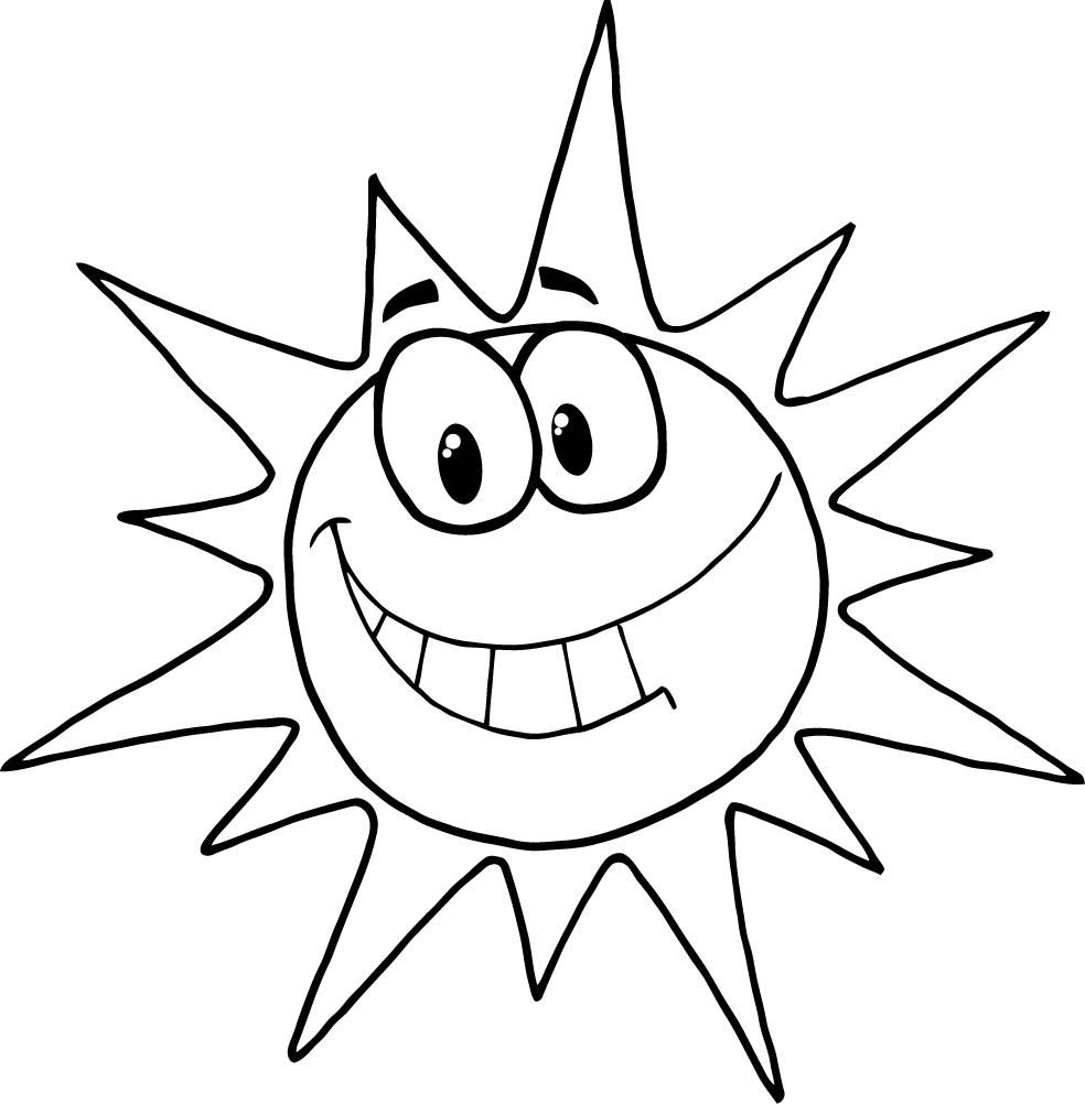 sunshine coloring pages print coloring pages now