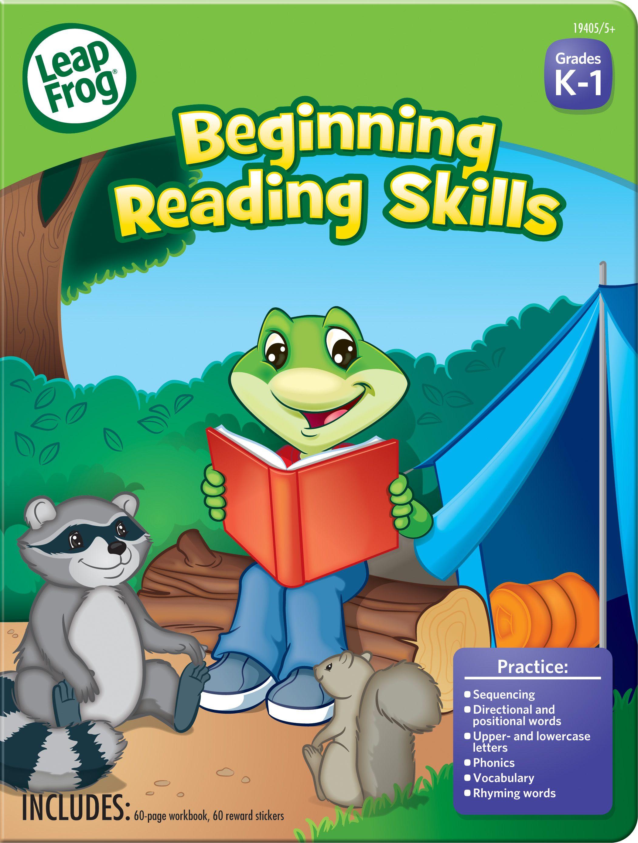 The Leapfrog Beginning Reading Skills Workbook Reinforces Key Skills Children Need To Succeed