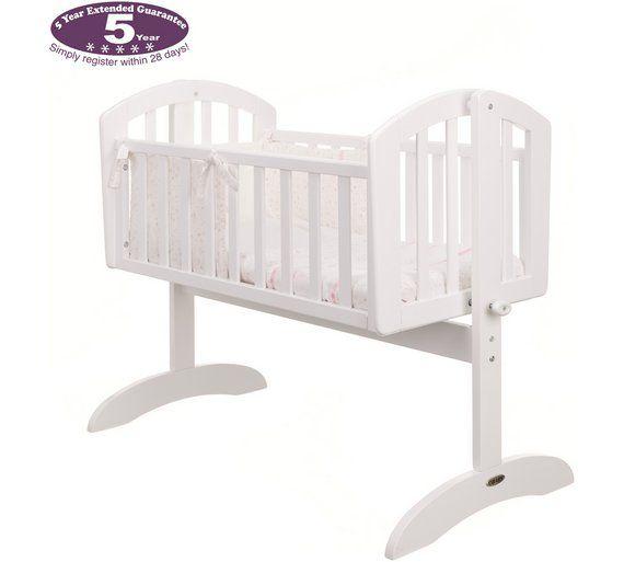 Obaby Sophie Swinging Crib Mattress And Pink Set White At Argos Co