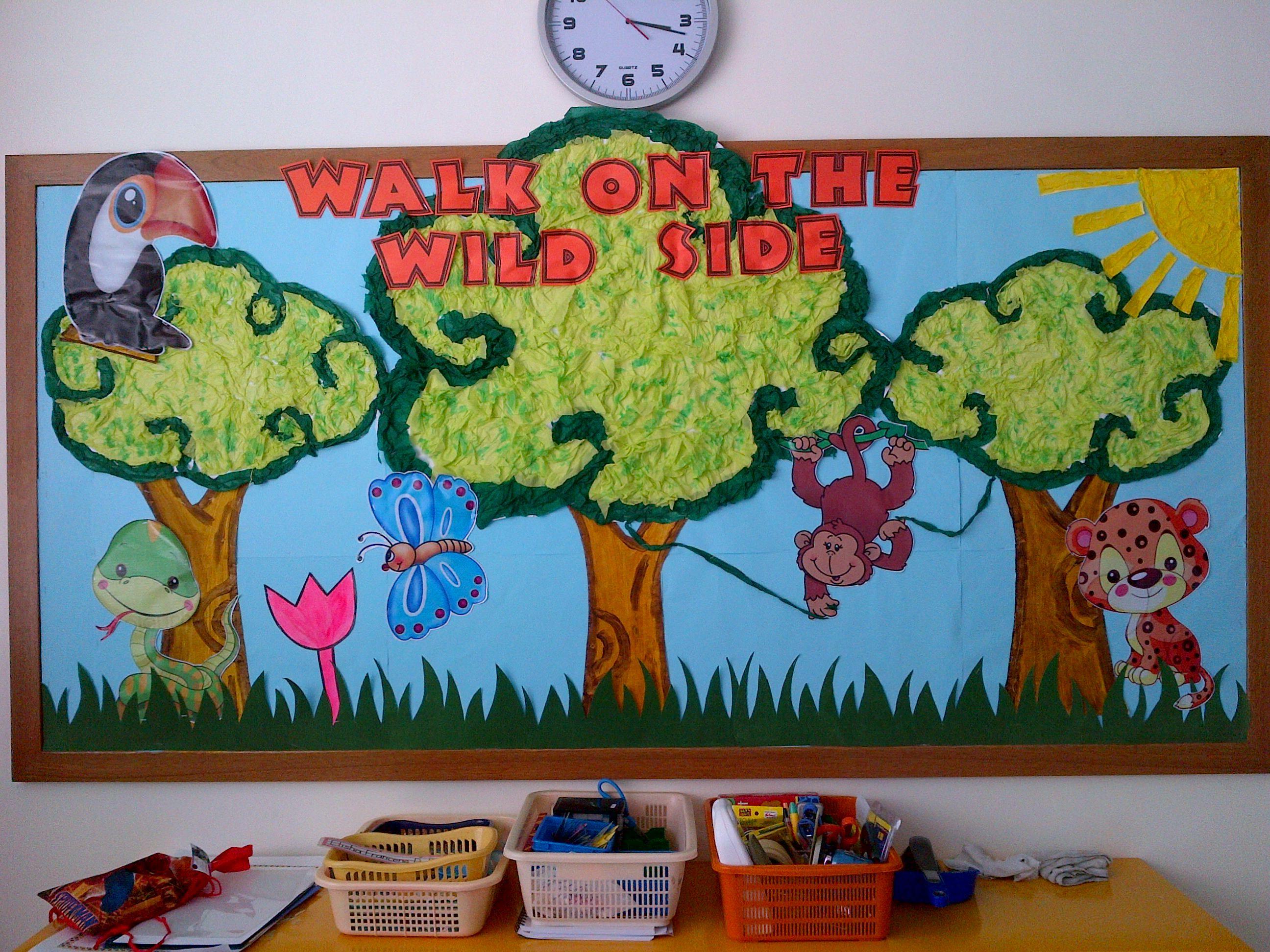 Summer Classroom Rainforest Themes