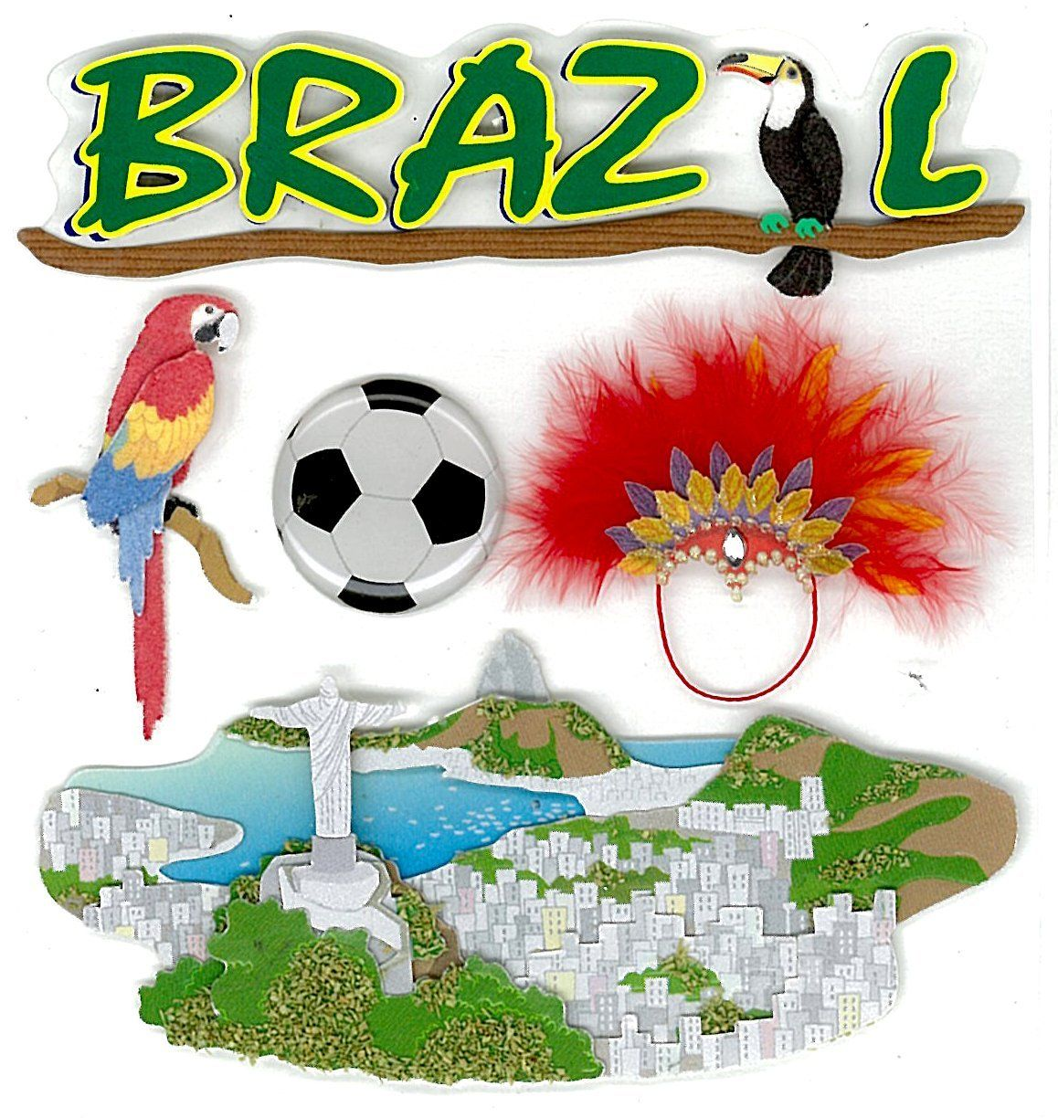 Scroll Down The Page For Brazil Crafts Plenty Of Themed