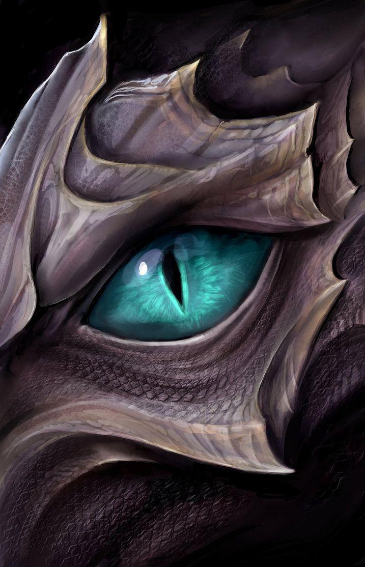 Dragon eye by on DeviantArt
