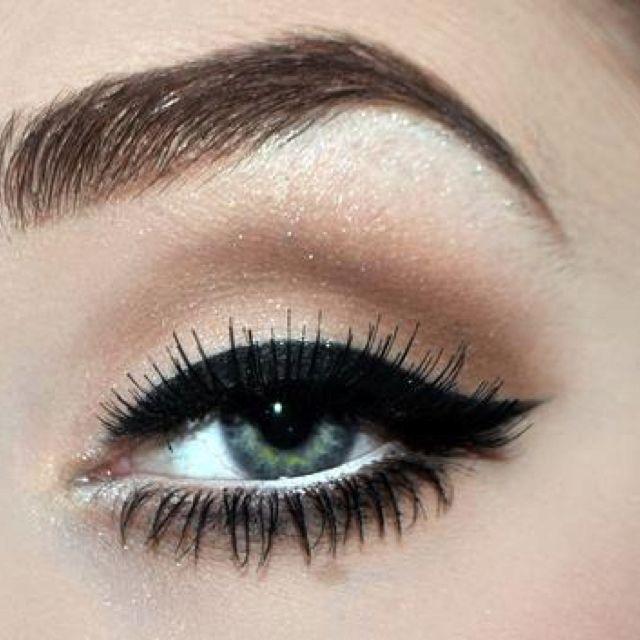 Resultado de imagen para eyeliner bold line