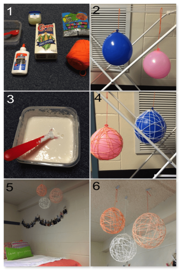 Dishes 'n' DIYs 3 Easy, Cheap Dorm Room Crafts Crafts