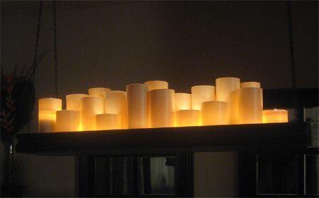 Home Dzine Make A Candle Holder Chandelier