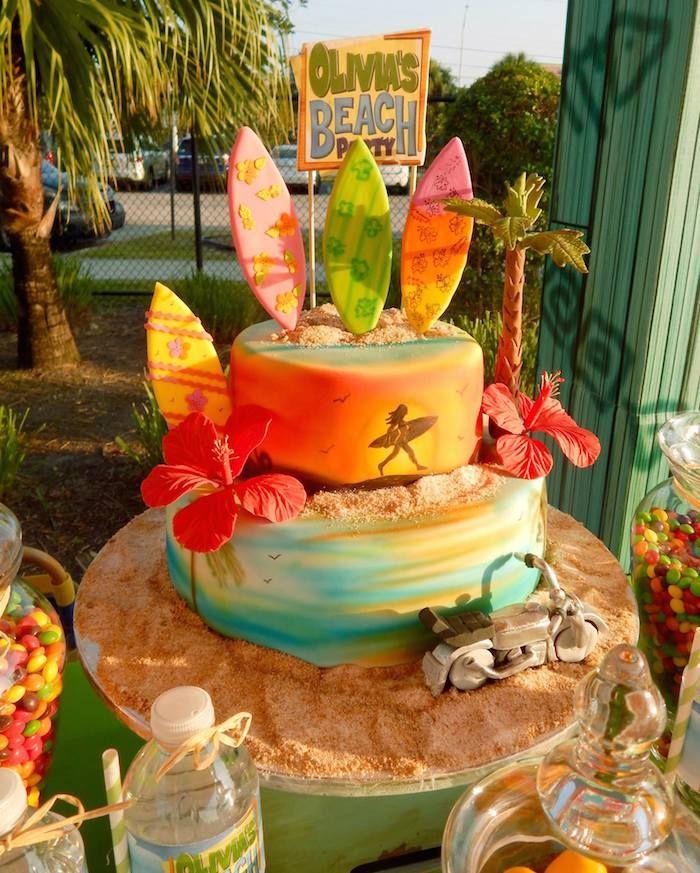 Disney's Teen Beach Movie Themed Birthday Party Teen