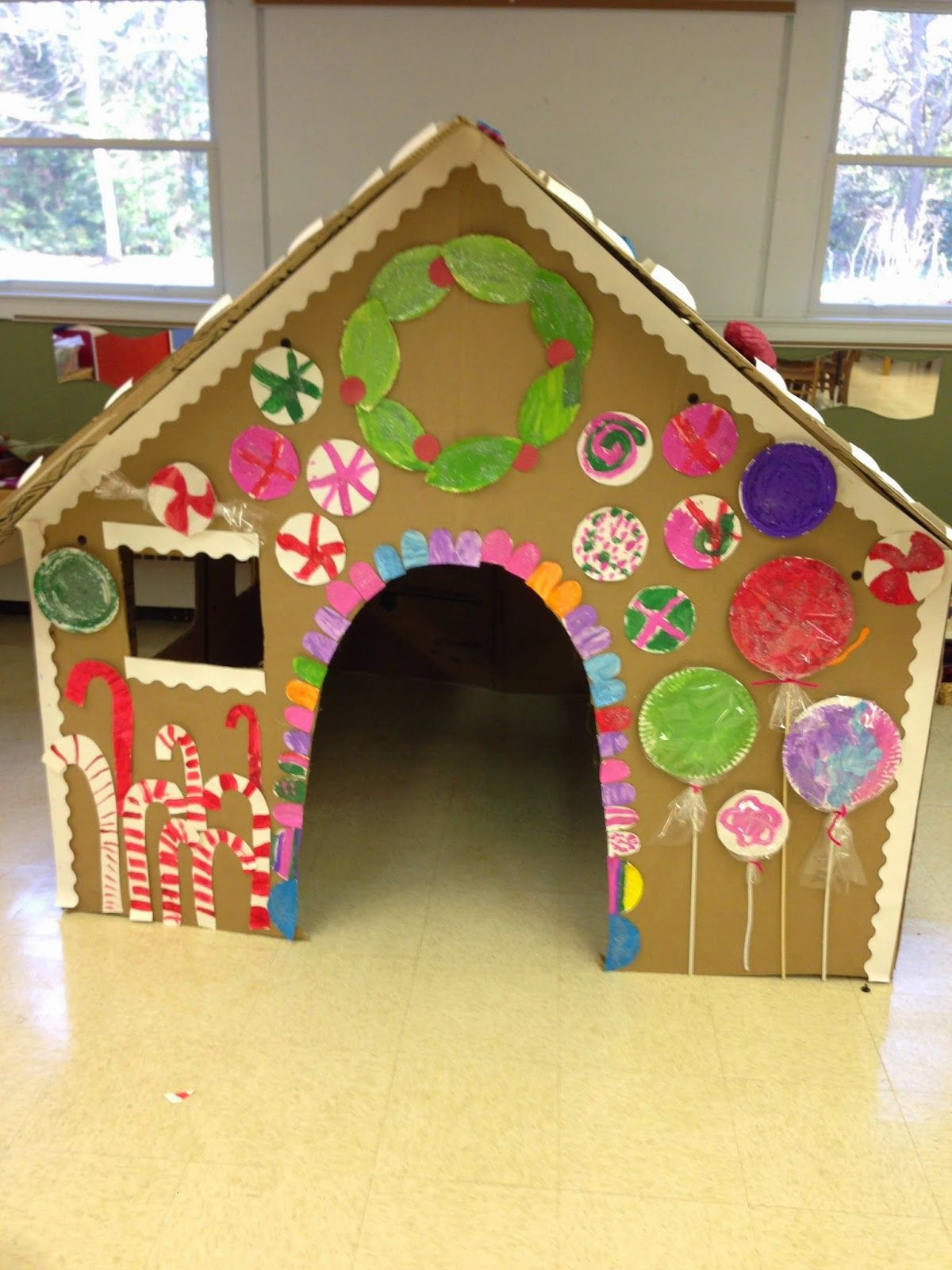 The Kids Are Loving The Life Size Gingerbread That I Build