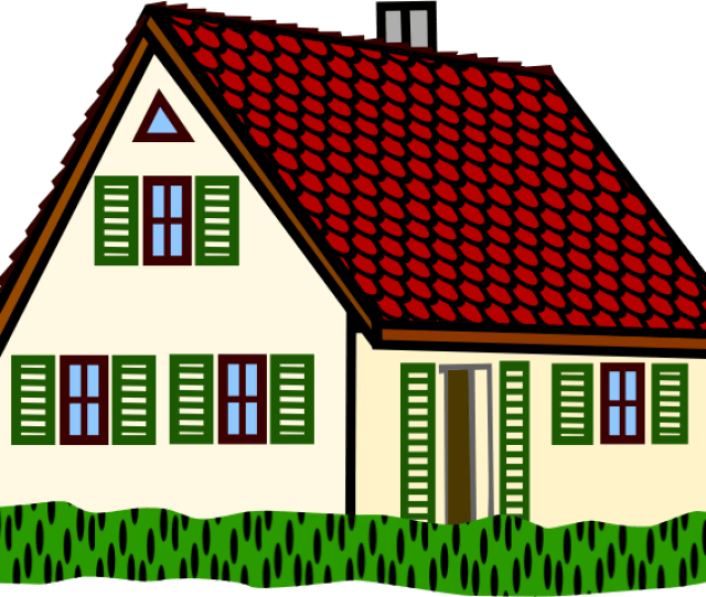 Free To Use Public Domain Houses Clip Art Page