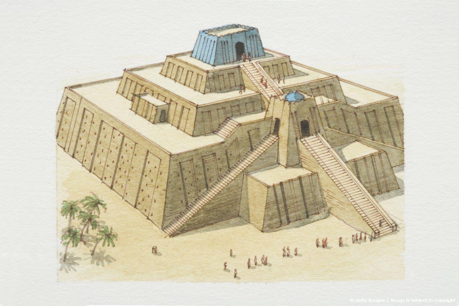 Mesopotamia Ur Ziggurat