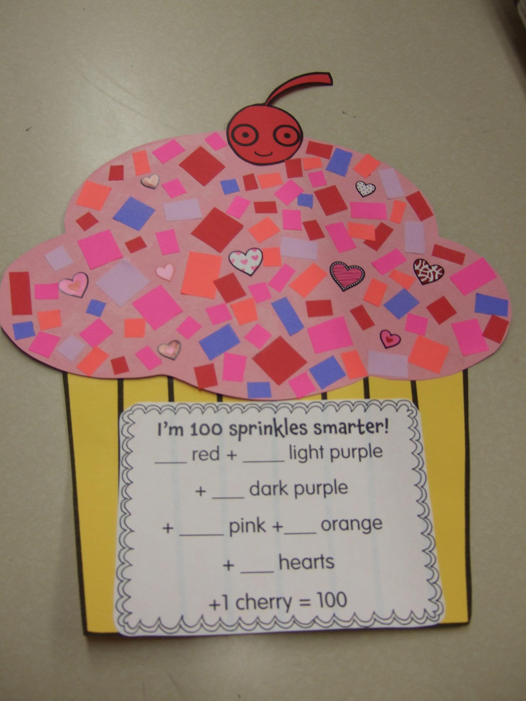 100th Day Of School Fun In First Grade