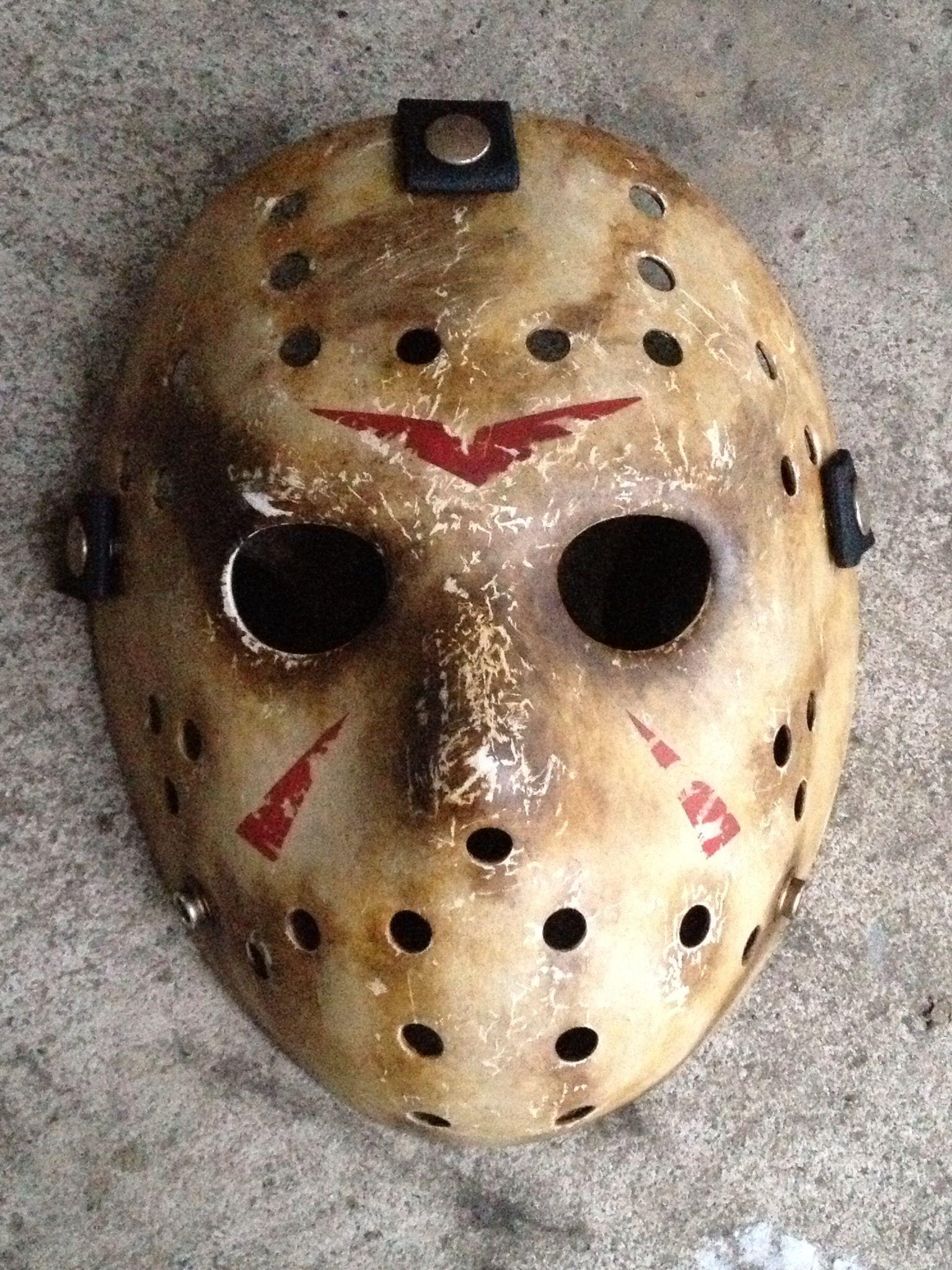 Ghoulish Creations Jason Voorhees remake mask. Jason