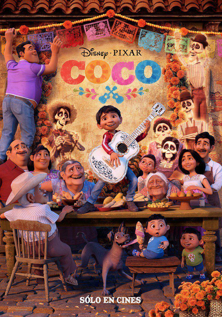 Coco new movie poster for Disney Pixar's