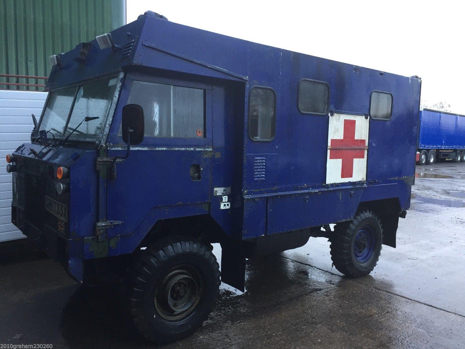 LAND ROVER 101 forward control ex ambulance RHD 12V