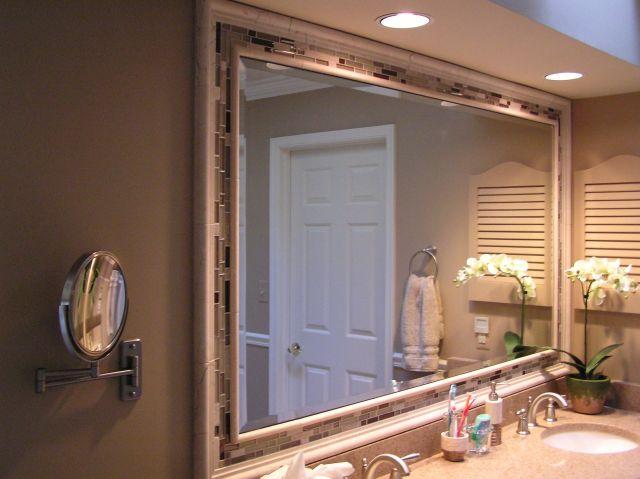 Modern Bathroom Mirror Magnificent Ideas Bathroom Wall Mirror