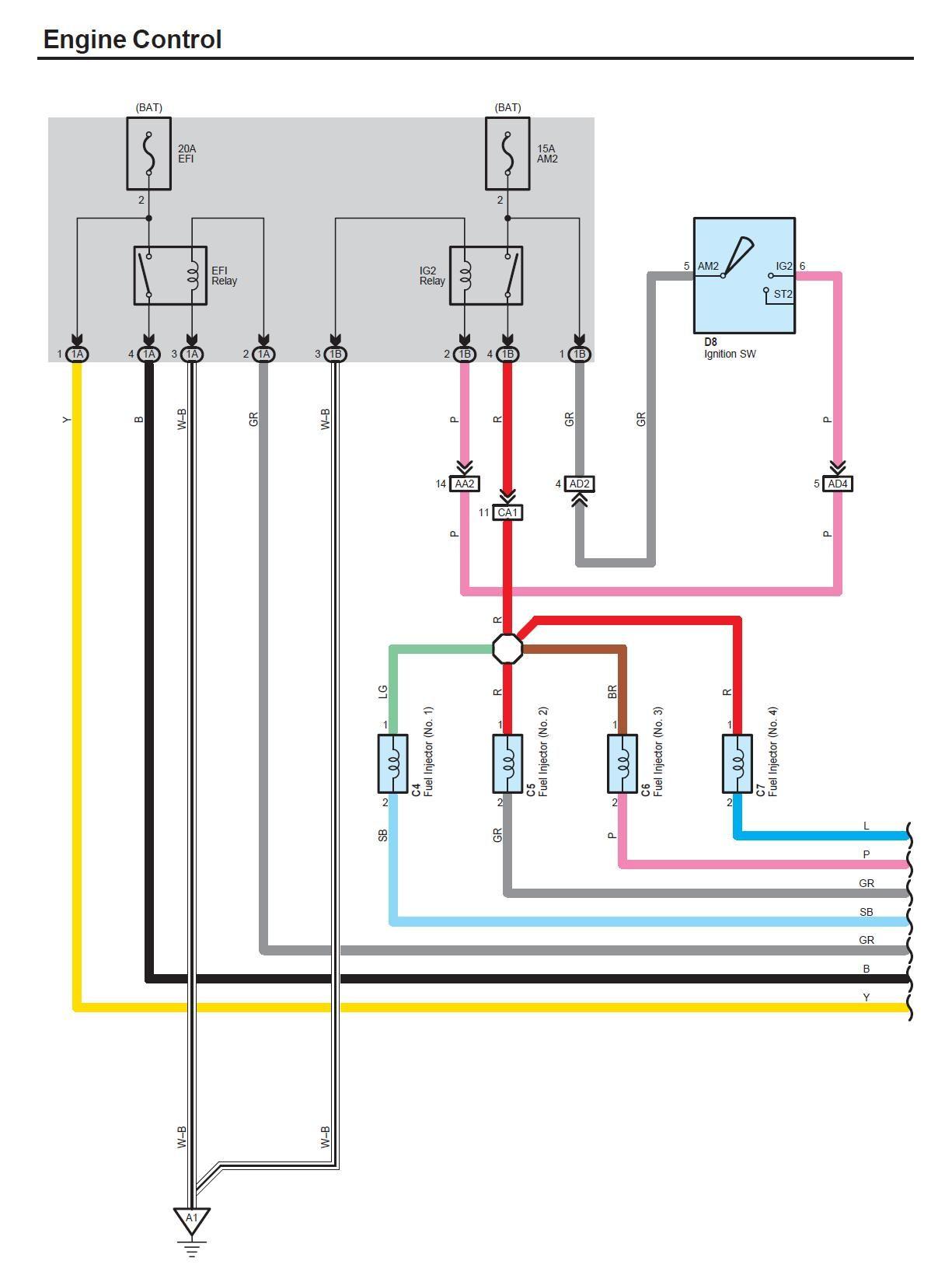 2007 Toyota Yaris Engine Wiring Diagram My Car Parts