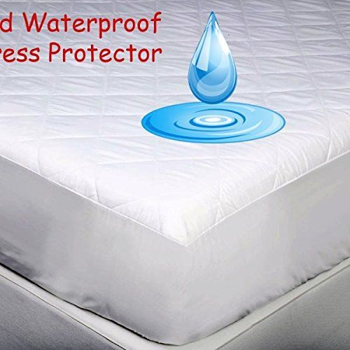 Aaf Textiles Small Double Waterproof Luxury Quilted Mattress Cover Protector Extra Deep All Uk Sizes Single Super King 4ft Three Quarter 4