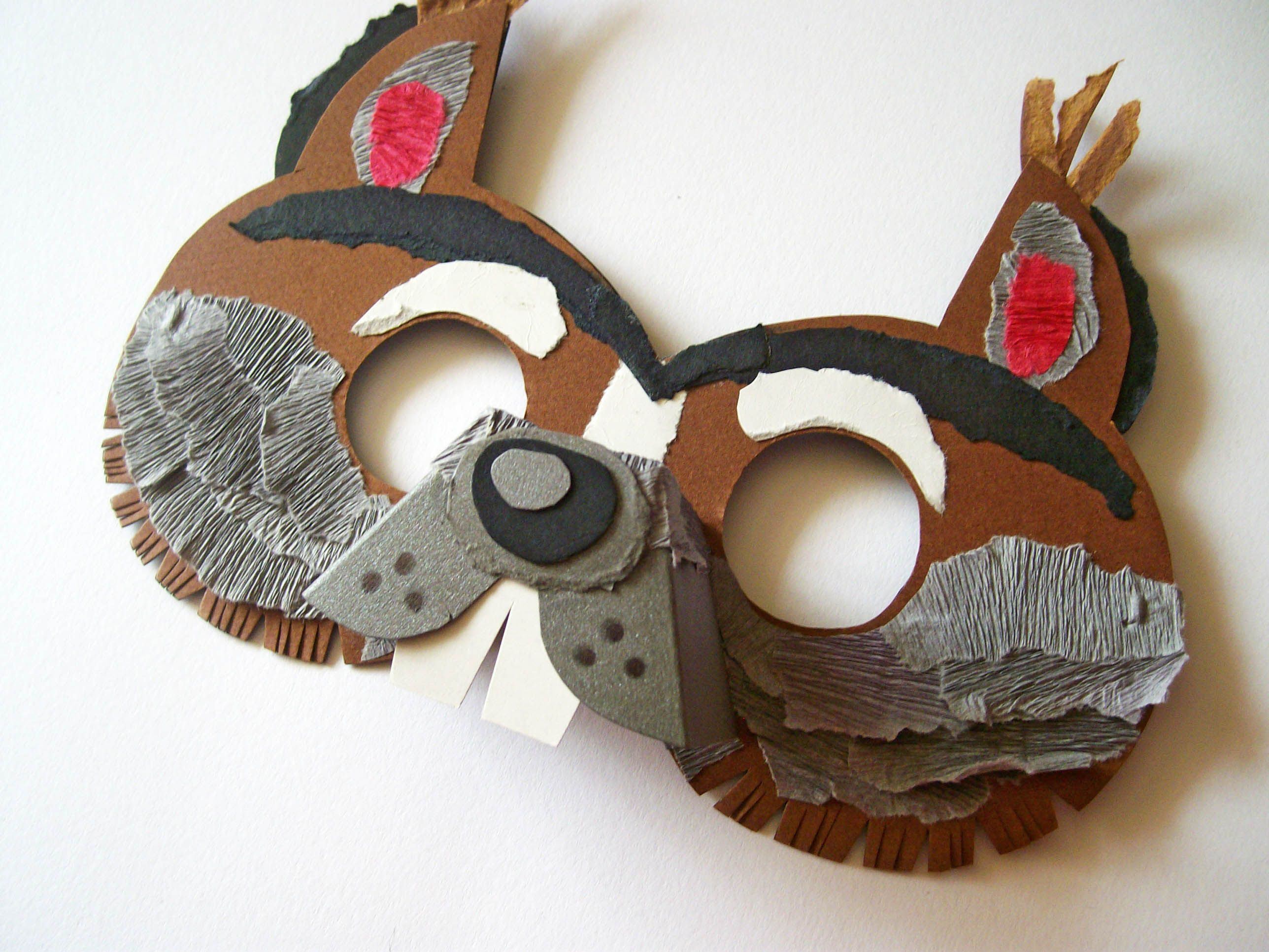 Squirrel Mask For Children