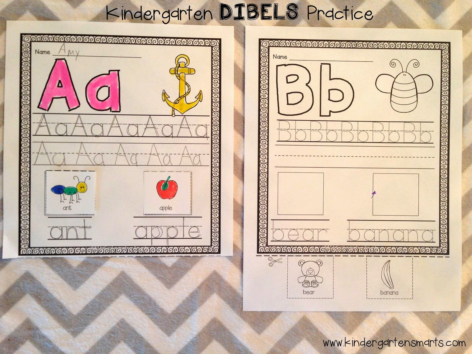 Letter Naming And First Sound Fluency Dibels Practice For Kindergarten