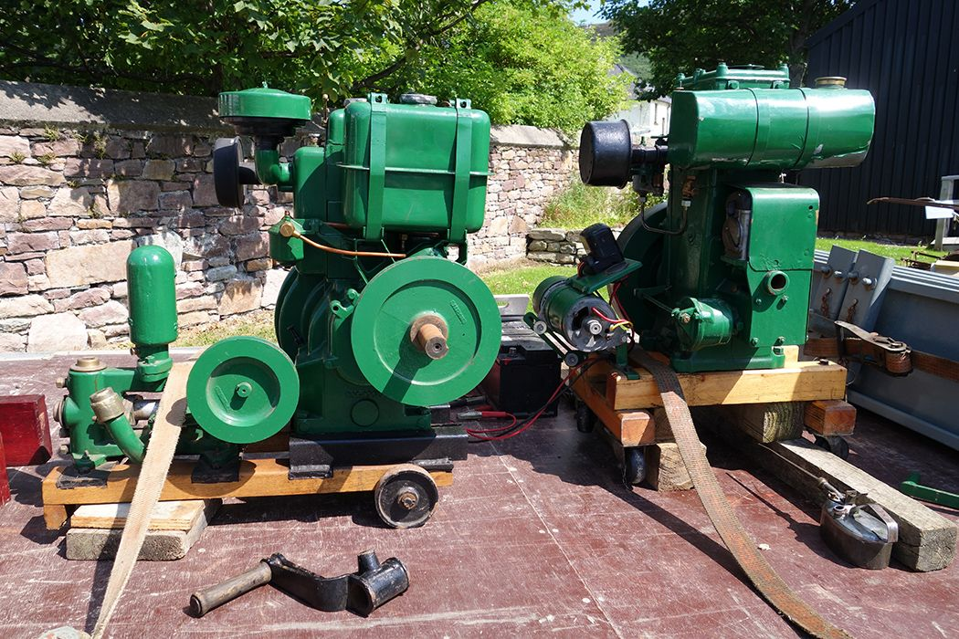 Green Lister D stationary engine 1937 photos worth