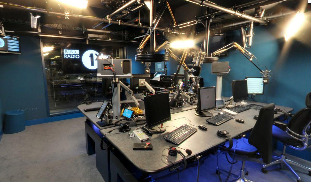Radio 1 Studio Podcast Studio Pinterest Radios and