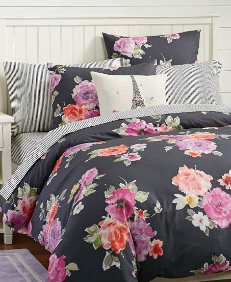 Floral Bedding From Pbteen Dorm Room Trends