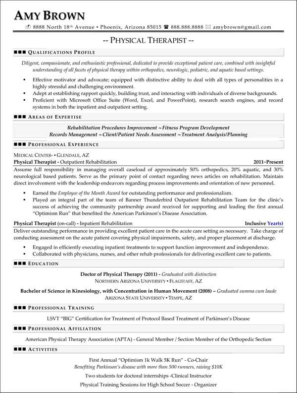 1000 images about resumes on pinterest physical therapy. breakupus ...