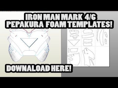 Iron Man Costume Template  iron man suit wip by leafeon ex