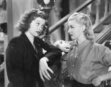 Image result for lucille ball in stage door