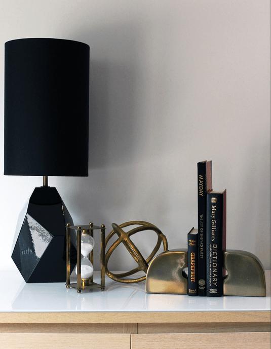 black gold lamp for my home office je veux tout pour mon bureau a la maison