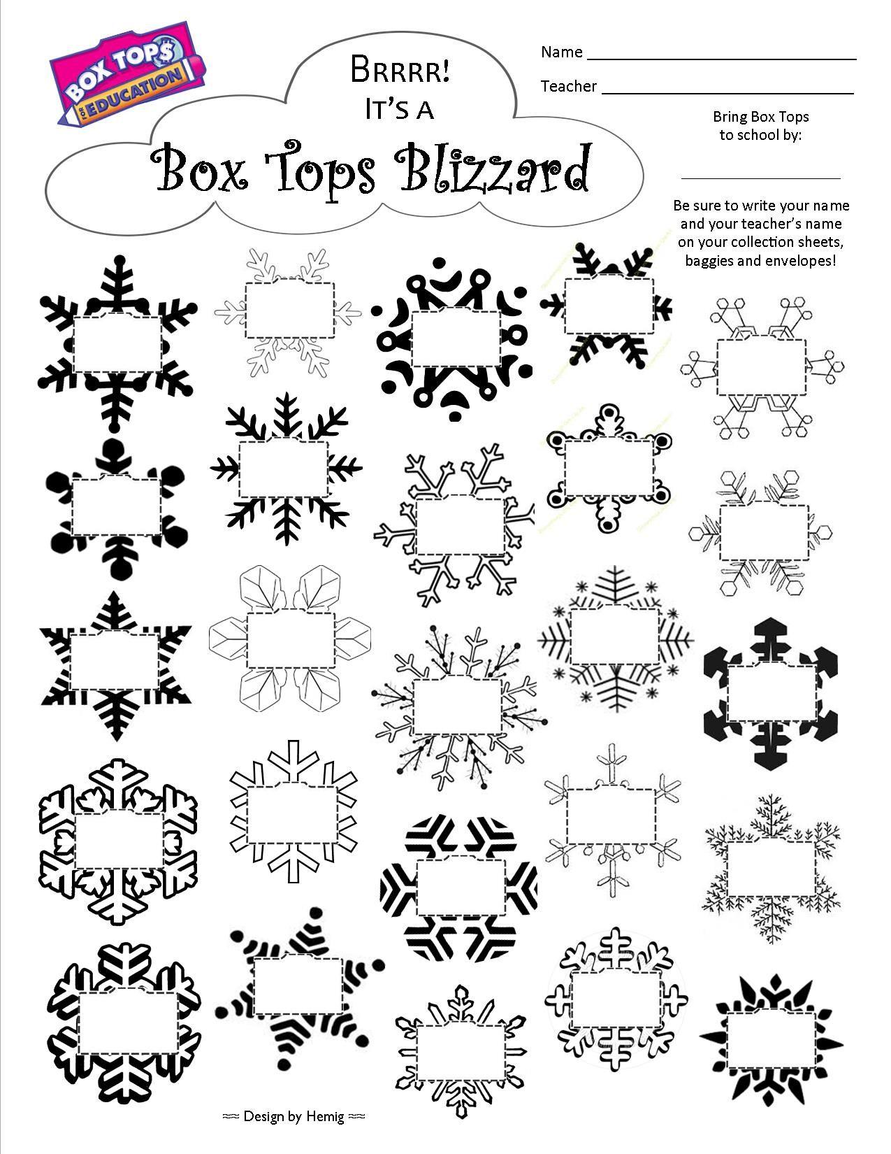 Organized Box Tops