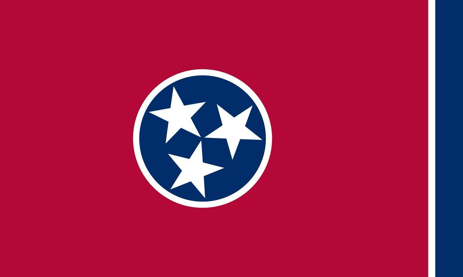 Tennessee State Flag Coloring Pages