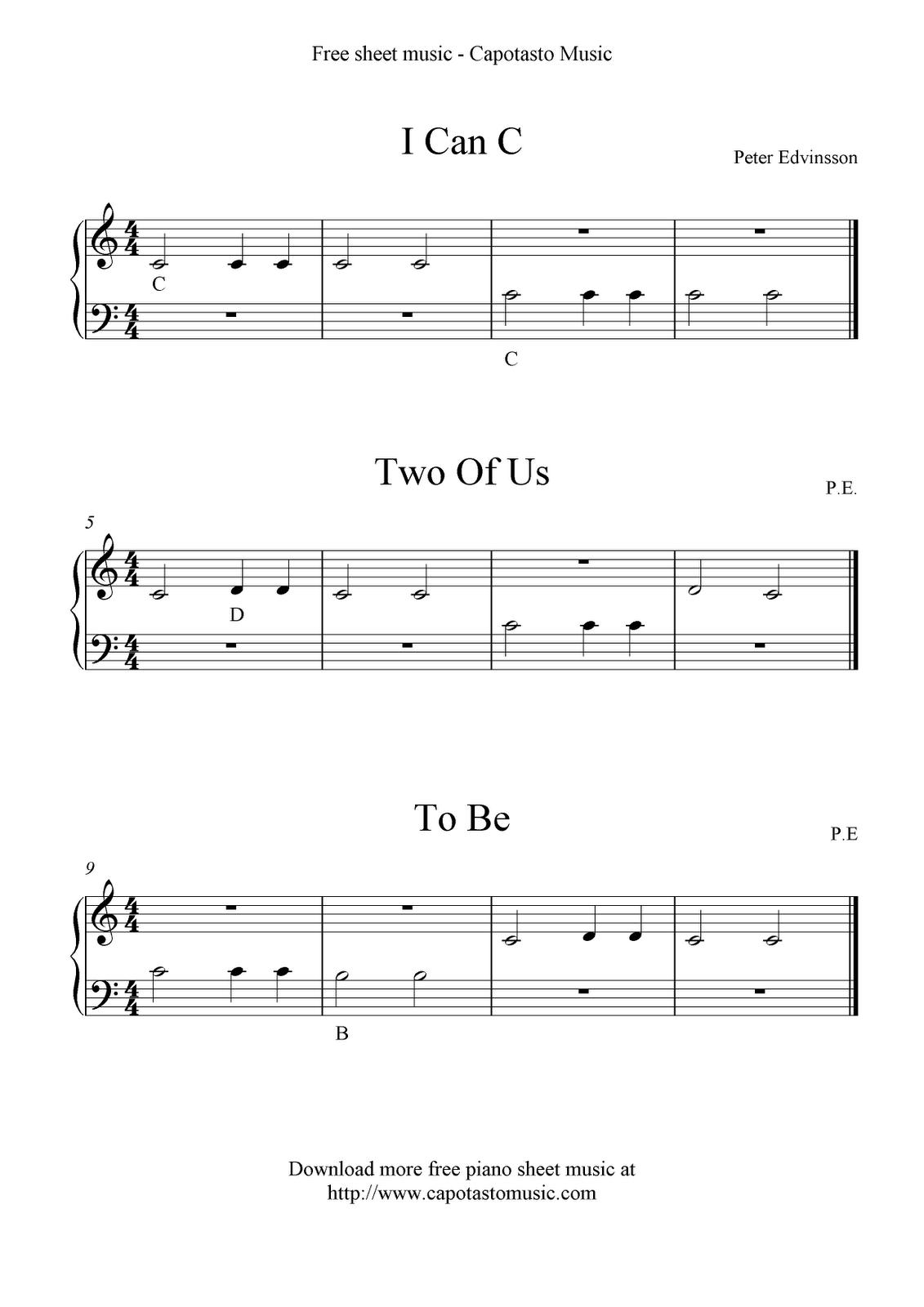 Sheet Music Basics