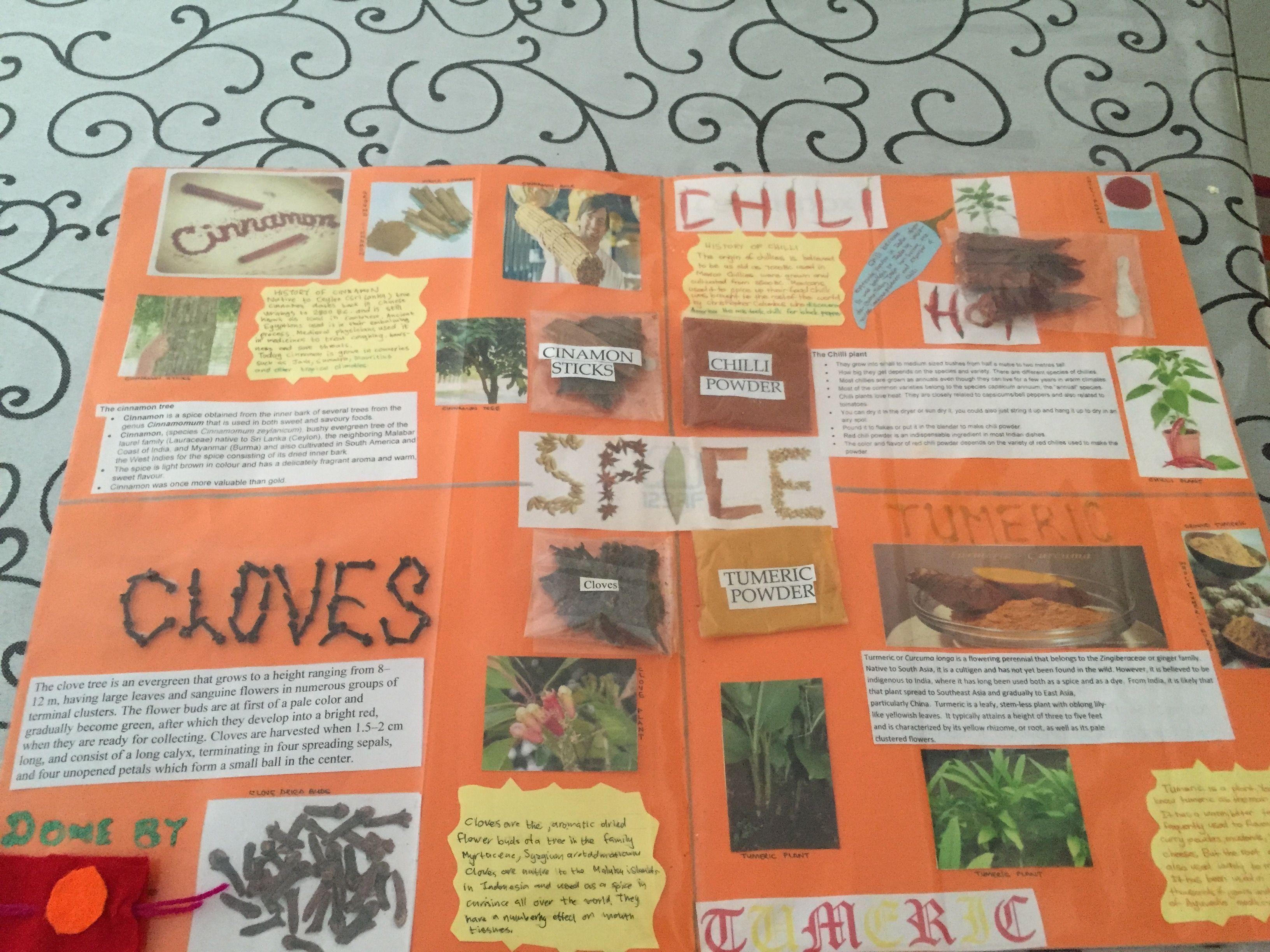 Spice Chart