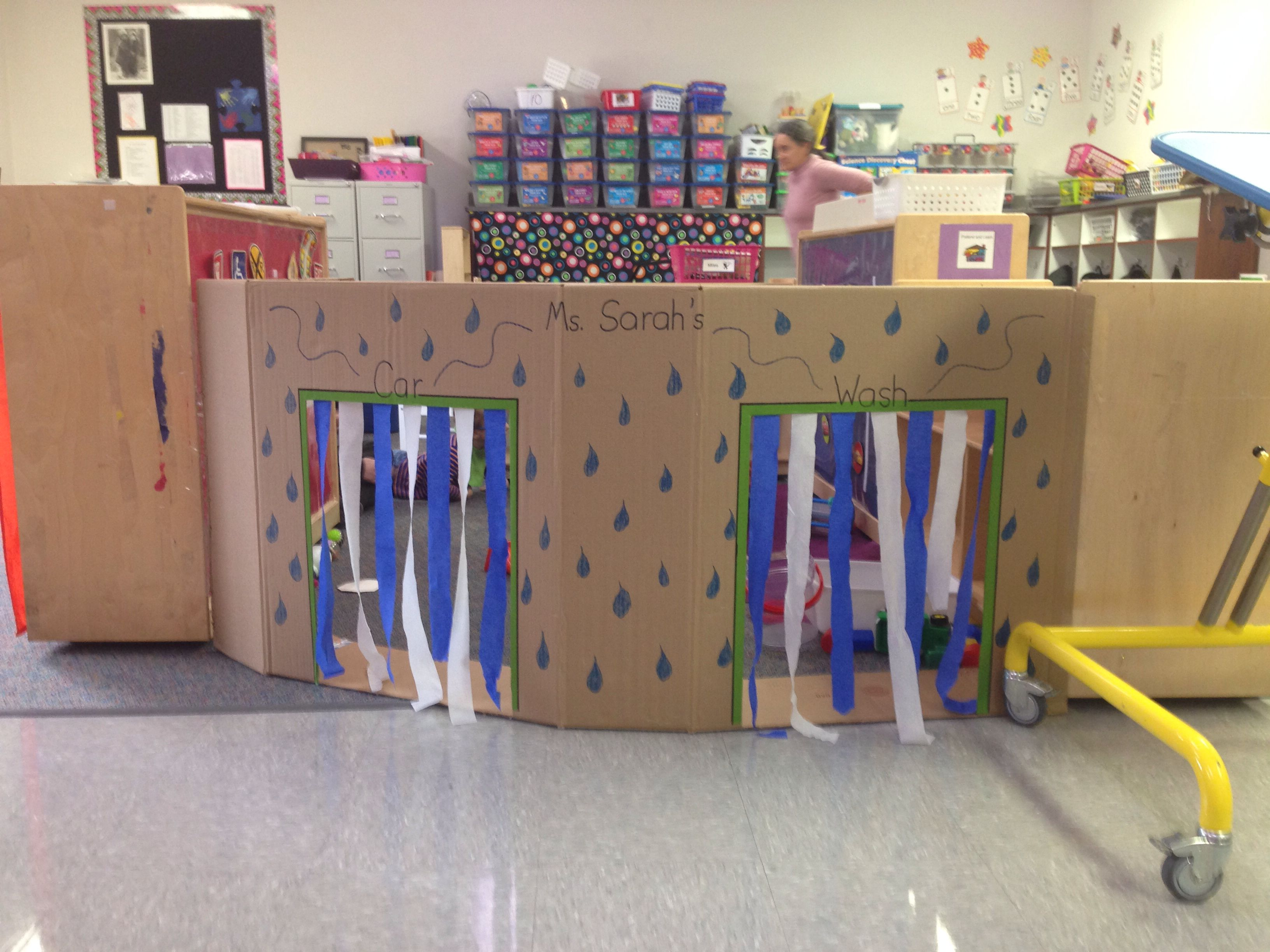Awesome Car Wash For Pretend And Learn