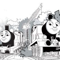 p  Coloring Page  Thomas   p  p  James    Cranky  p    Oscar s Party      p  Coloring Page  Thomas