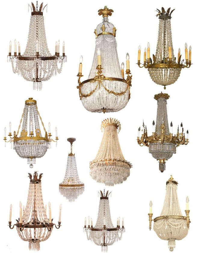 Crowned Magnificence The French Empire Crystal Chandelier