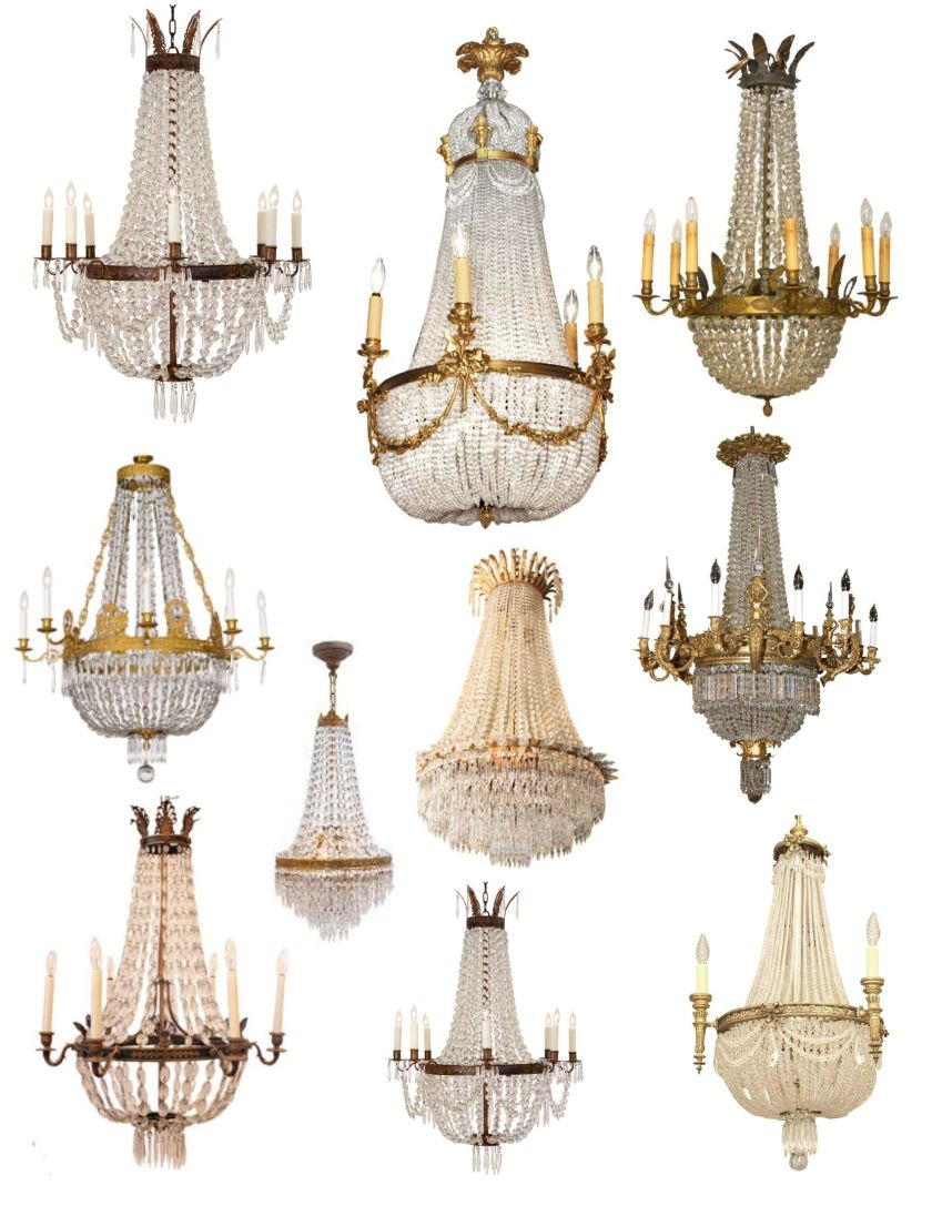 Image result for images of french chandeliers