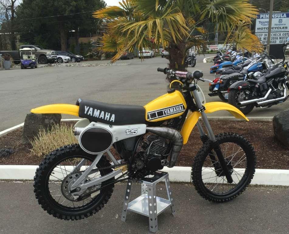1980 Yamaha YZ 125 Yamaha motorcycles for sale